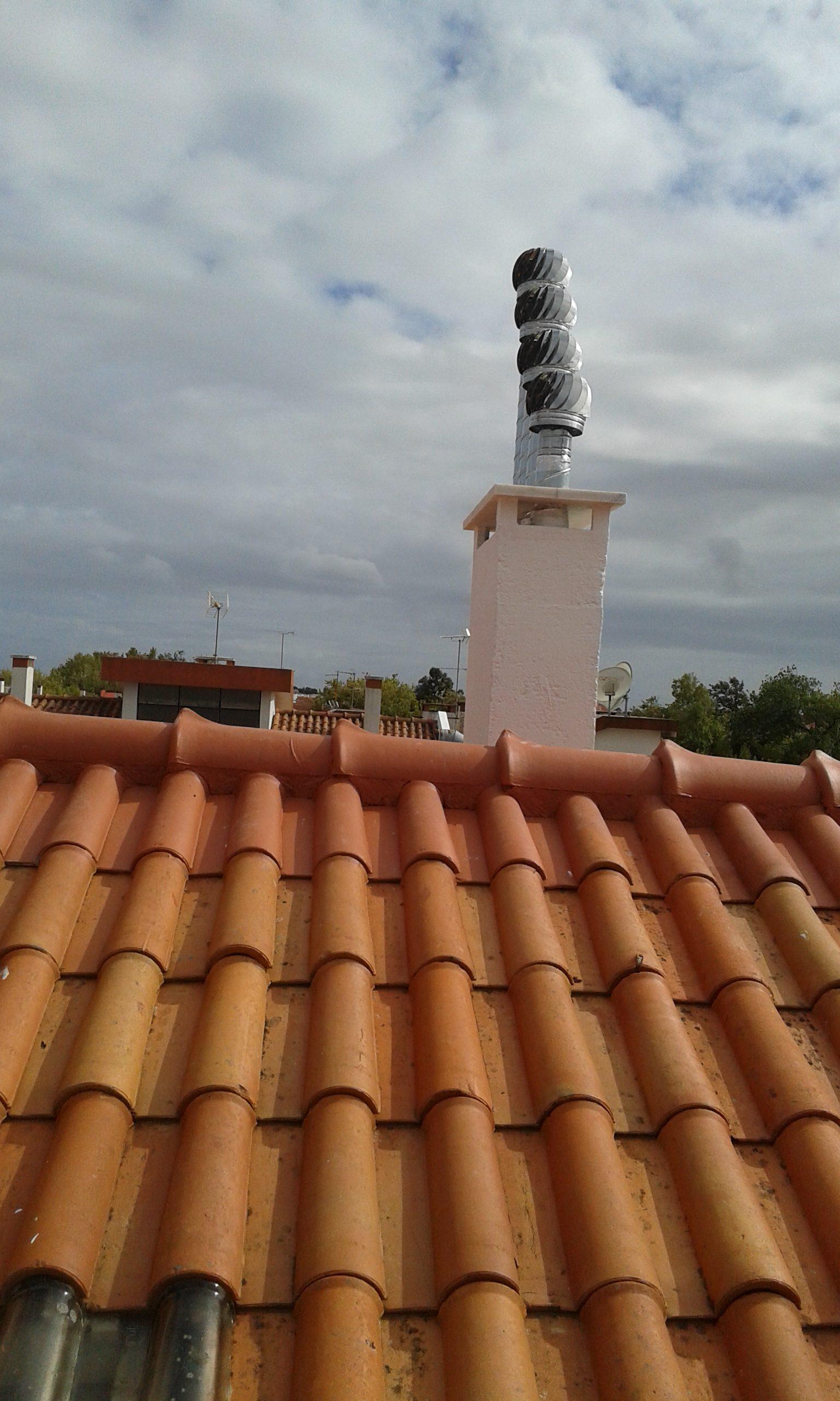 Recuperação de telhados